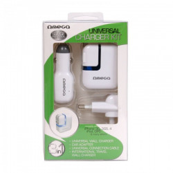 Universal travel charger kit