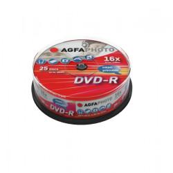 DVD-R 4.7Gb Inkjet Cake25