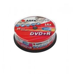 DVD+R 4.7Gb Inkjet Cake25