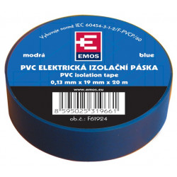 Insulating tape blue